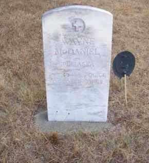 MC DANIEL, WAYNE - Brown County, Nebraska | WAYNE MC DANIEL - Nebraska Gravestone Photos