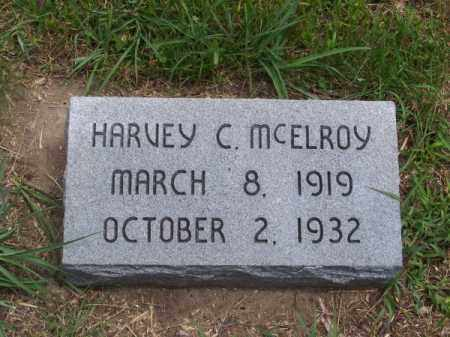 MC ELROY, HARVEY C. - Brown County, Nebraska | HARVEY C. MC ELROY - Nebraska Gravestone Photos