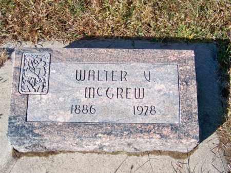 MC GREW, WALTER V. - Brown County, Nebraska | WALTER V. MC GREW - Nebraska Gravestone Photos