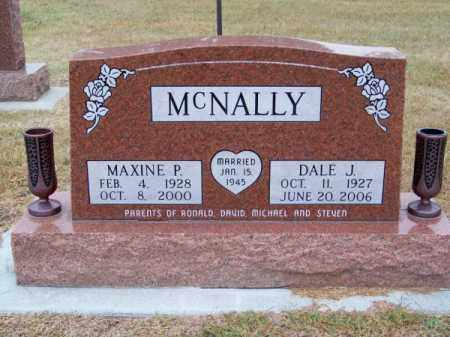 MC NALLY, MAXINE P. - Brown County, Nebraska | MAXINE P. MC NALLY - Nebraska Gravestone Photos