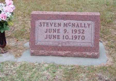 MC NALLY, STEVEN - Brown County, Nebraska   STEVEN MC NALLY - Nebraska Gravestone Photos