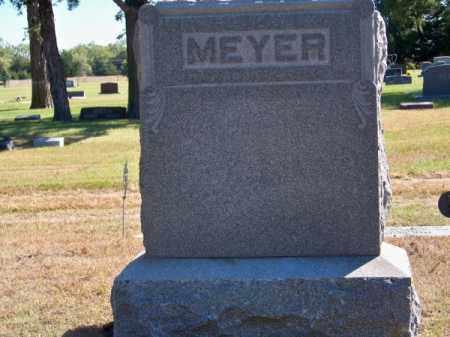 MEYER, FAMILY - Brown County, Nebraska   FAMILY MEYER - Nebraska Gravestone Photos