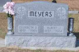 MEYERS, ELIZABETH D. - Brown County, Nebraska | ELIZABETH D. MEYERS - Nebraska Gravestone Photos