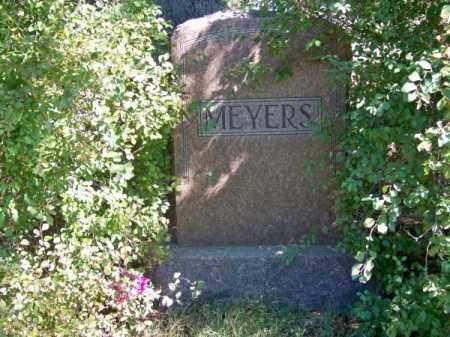 MEYERS, FAMILY - Brown County, Nebraska | FAMILY MEYERS - Nebraska Gravestone Photos