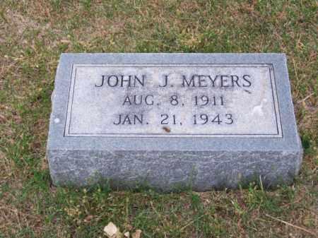 MEYERS, JOHN J. - Brown County, Nebraska   JOHN J. MEYERS - Nebraska Gravestone Photos