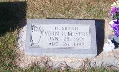 MEYERS, VERN F. - Brown County, Nebraska | VERN F. MEYERS - Nebraska Gravestone Photos