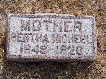 MICHEEL, BERTHA - Brown County, Nebraska   BERTHA MICHEEL - Nebraska Gravestone Photos