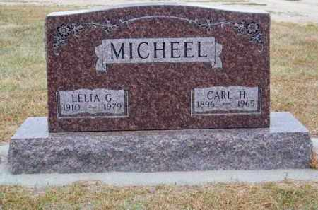 MICHEEL, LELIA G. - Brown County, Nebraska | LELIA G. MICHEEL - Nebraska Gravestone Photos