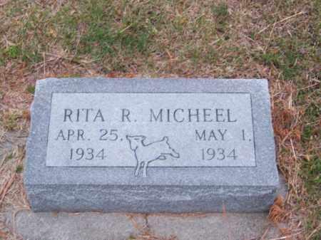 MICHEEL, RITA R. - Brown County, Nebraska   RITA R. MICHEEL - Nebraska Gravestone Photos