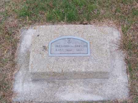 MILES, SAMUEL J. - Brown County, Nebraska | SAMUEL J. MILES - Nebraska Gravestone Photos