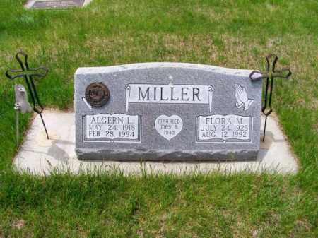 MILLER, ALGERN L. - Brown County, Nebraska | ALGERN L. MILLER - Nebraska Gravestone Photos