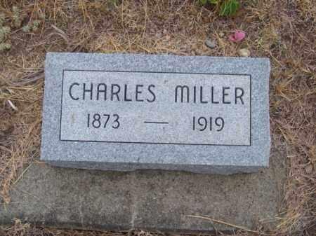 MILLER, CHARLES - Brown County, Nebraska | CHARLES MILLER - Nebraska Gravestone Photos