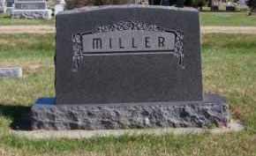 MILLER, FAMILY - Brown County, Nebraska | FAMILY MILLER - Nebraska Gravestone Photos