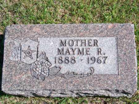 MILLER, MAYME R. - Brown County, Nebraska   MAYME R. MILLER - Nebraska Gravestone Photos
