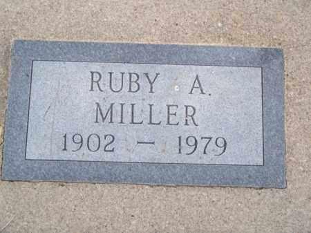 MILLER, RUBY A. - Brown County, Nebraska | RUBY A. MILLER - Nebraska Gravestone Photos