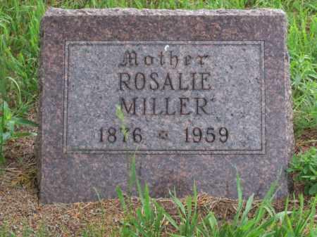 MILLER, ROSALIE - Brown County, Nebraska | ROSALIE MILLER - Nebraska Gravestone Photos
