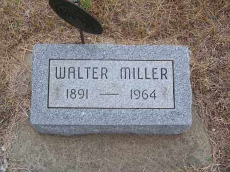 MILLER, WALTER - Brown County, Nebraska   WALTER MILLER - Nebraska Gravestone Photos