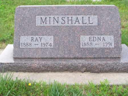 MINSHALL, EDNA - Brown County, Nebraska | EDNA MINSHALL - Nebraska Gravestone Photos