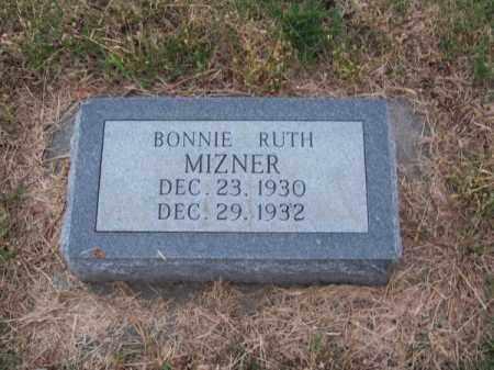 MIZNER, BONNIE RUTH - Brown County, Nebraska | BONNIE RUTH MIZNER - Nebraska Gravestone Photos