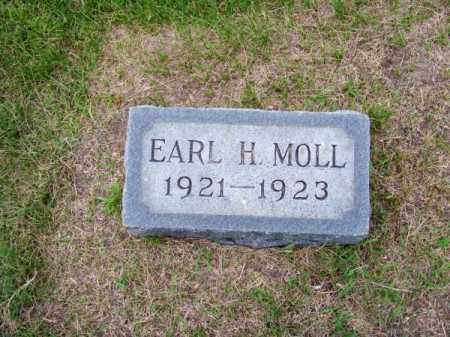 MOLL, EARL H. - Brown County, Nebraska | EARL H. MOLL - Nebraska Gravestone Photos