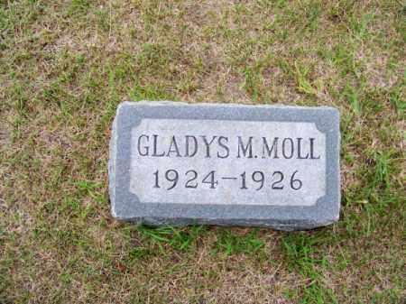 MOLL, GLADYS M. - Brown County, Nebraska | GLADYS M. MOLL - Nebraska Gravestone Photos