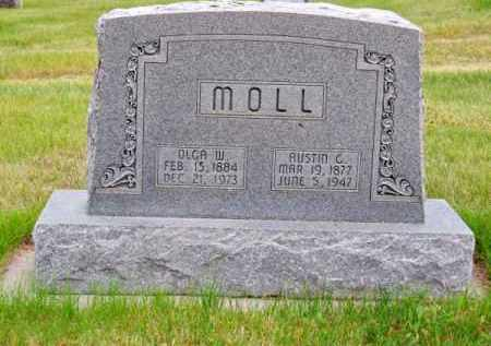 MOLL, AUSTIN G. - Brown County, Nebraska | AUSTIN G. MOLL - Nebraska Gravestone Photos
