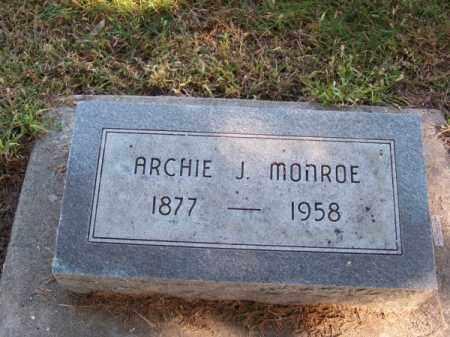 MONROE, ARCHIE J. - Brown County, Nebraska | ARCHIE J. MONROE - Nebraska Gravestone Photos