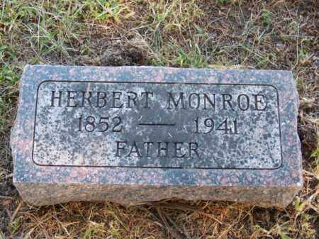 MONROE, HERBERT - Brown County, Nebraska   HERBERT MONROE - Nebraska Gravestone Photos