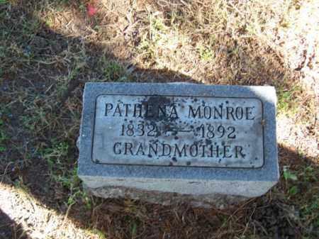 MONROE, PATHENA - Brown County, Nebraska | PATHENA MONROE - Nebraska Gravestone Photos