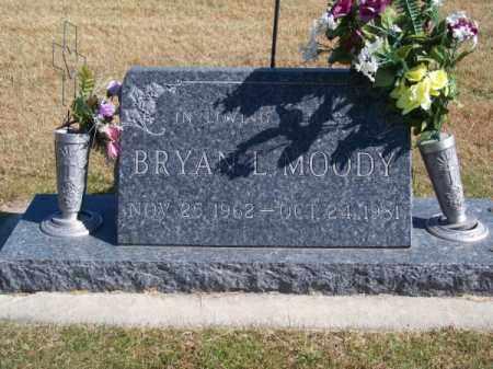 MOODY, BRYAN L. - Brown County, Nebraska | BRYAN L. MOODY - Nebraska Gravestone Photos