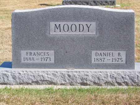 MOODY, FRANCES - Brown County, Nebraska | FRANCES MOODY - Nebraska Gravestone Photos