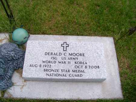 MOORE, DERALD C. - Brown County, Nebraska   DERALD C. MOORE - Nebraska Gravestone Photos