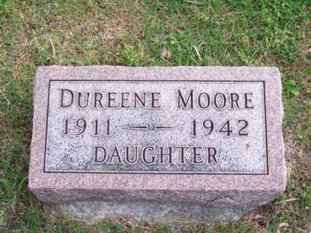 MOORE, DUREENE - Brown County, Nebraska | DUREENE MOORE - Nebraska Gravestone Photos