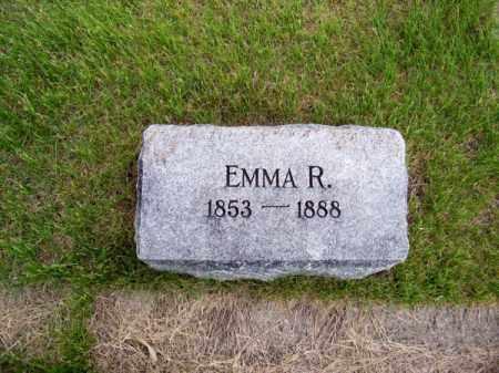MOORE, EMMA R. - Brown County, Nebraska | EMMA R. MOORE - Nebraska Gravestone Photos