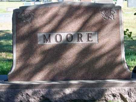 MOORE, FAMILY - Brown County, Nebraska | FAMILY MOORE - Nebraska Gravestone Photos