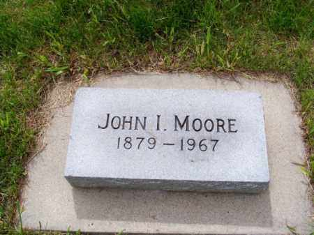 MOORE, JOHN I. - Brown County, Nebraska | JOHN I. MOORE - Nebraska Gravestone Photos