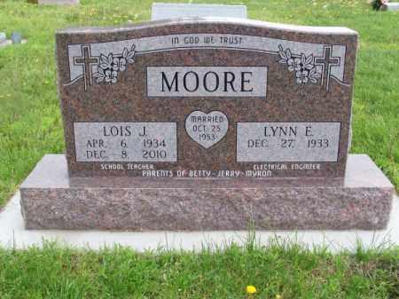 MOORE, LOIS J. - Brown County, Nebraska | LOIS J. MOORE - Nebraska Gravestone Photos