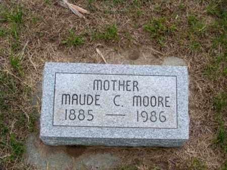 MOORE, MAUDE C. - Brown County, Nebraska | MAUDE C. MOORE - Nebraska Gravestone Photos