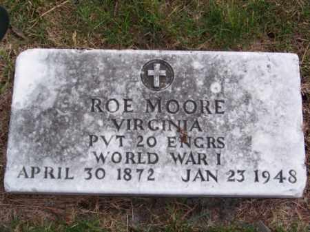 MOORE, ROE - Brown County, Nebraska | ROE MOORE - Nebraska Gravestone Photos