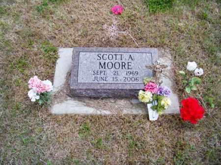 MOORE, SCOTT A. - Brown County, Nebraska | SCOTT A. MOORE - Nebraska Gravestone Photos