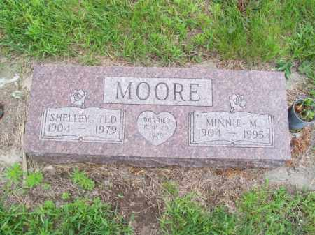 MOORE, SHELLEY TED - Brown County, Nebraska | SHELLEY TED MOORE - Nebraska Gravestone Photos