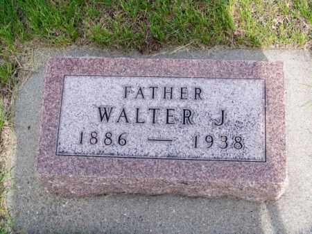 MOORE, WALTER J. - Brown County, Nebraska | WALTER J. MOORE - Nebraska Gravestone Photos