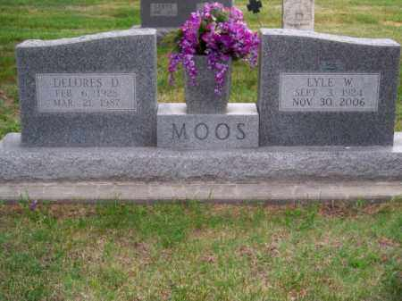 MOOS, DELORES D. - Brown County, Nebraska | DELORES D. MOOS - Nebraska Gravestone Photos