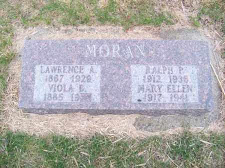 MORAN, LAWRENCE A. - Brown County, Nebraska | LAWRENCE A. MORAN - Nebraska Gravestone Photos