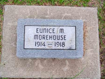 MOREHOUSE, EUNICE M. - Brown County, Nebraska | EUNICE M. MOREHOUSE - Nebraska Gravestone Photos