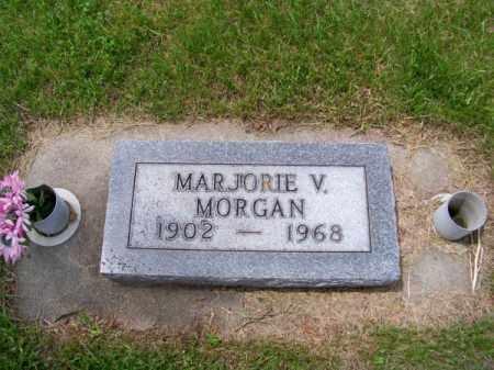 MORGAN, MARJORIE V. - Brown County, Nebraska | MARJORIE V. MORGAN - Nebraska Gravestone Photos