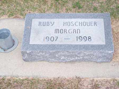MORGAN, RUBY - Brown County, Nebraska | RUBY MORGAN - Nebraska Gravestone Photos