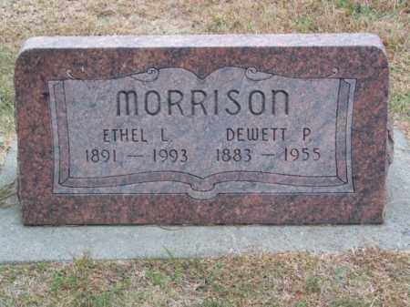 MORRISON, ETHEL L. - Brown County, Nebraska | ETHEL L. MORRISON - Nebraska Gravestone Photos