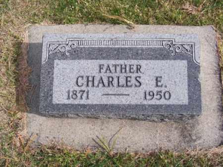 MORROW, CHARLES E. - Brown County, Nebraska   CHARLES E. MORROW - Nebraska Gravestone Photos