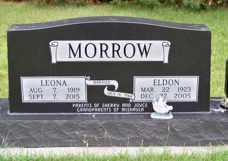 MORROW, LEONA - Brown County, Nebraska | LEONA MORROW - Nebraska Gravestone Photos